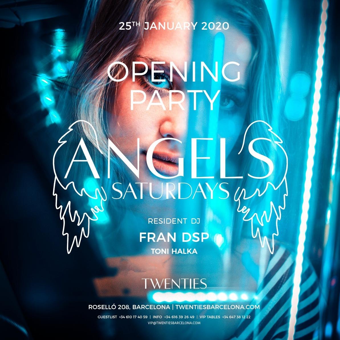 Saturday - Angels - Twenties - Club Twenties Barcelona