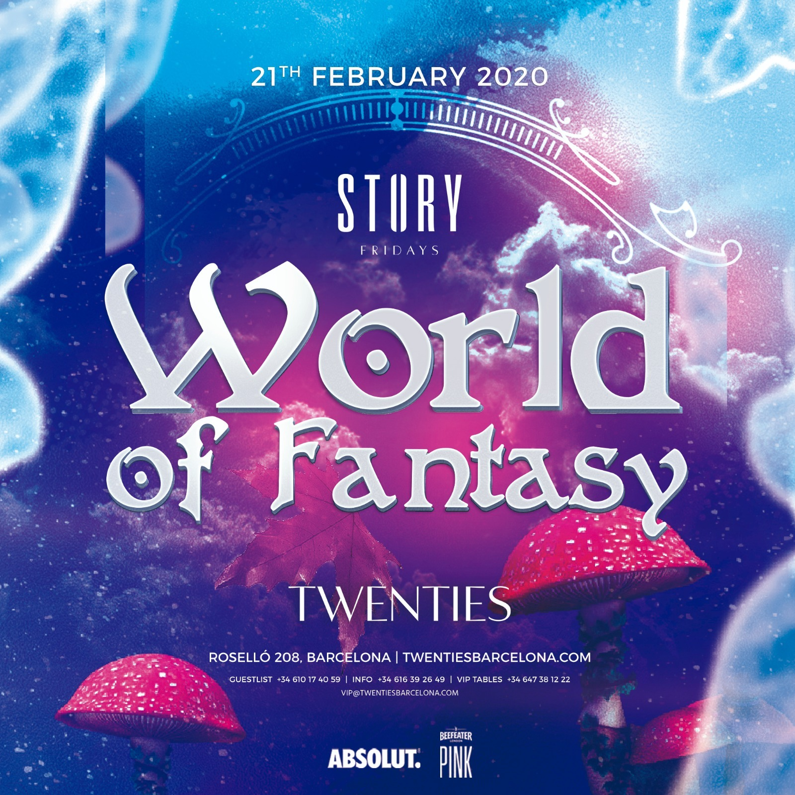 WORLD OF FANTASY TWENTIES BARCELONA