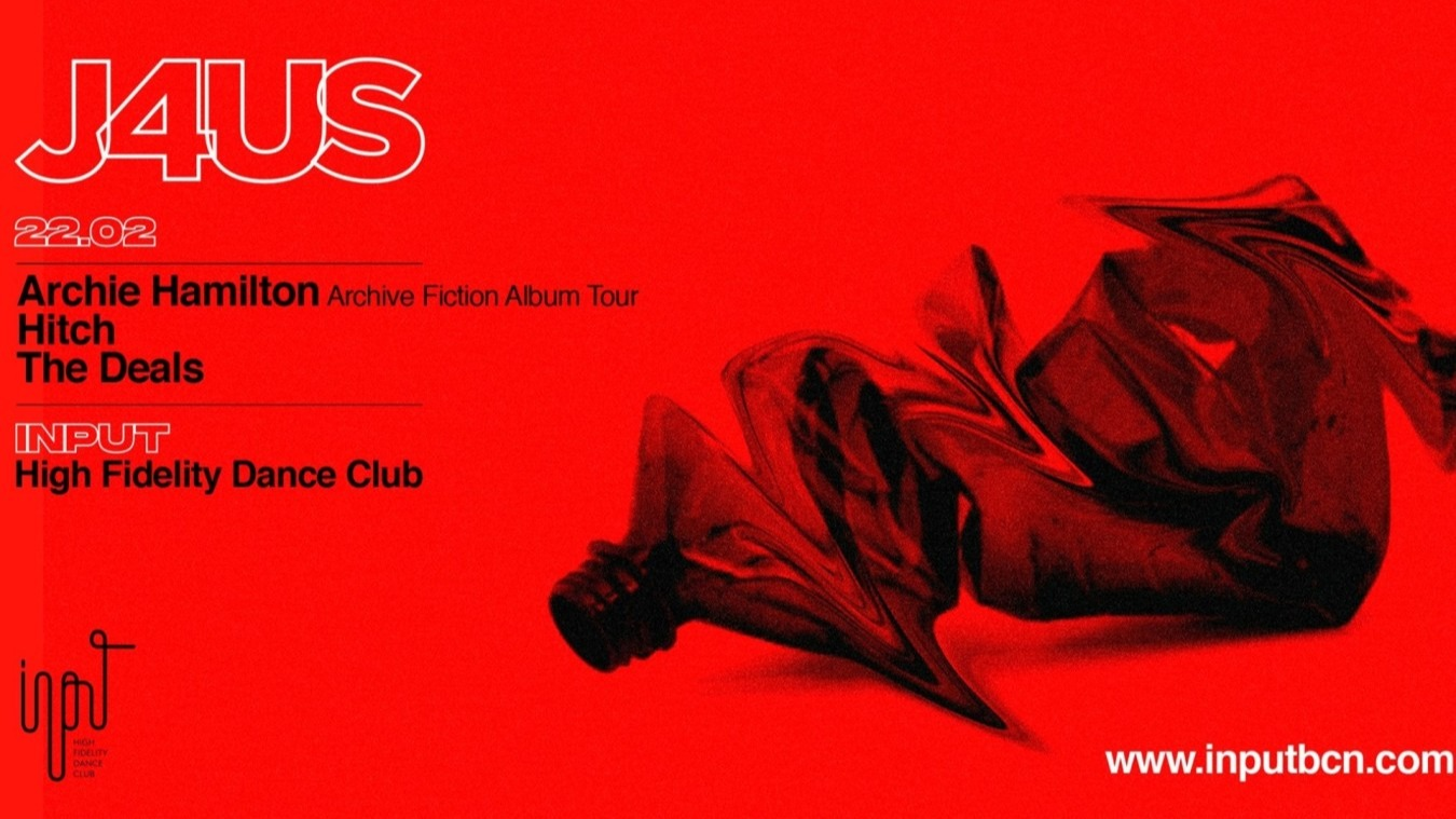 J4US pres. Archie Hamilton - Archive Fiction Album Tour - Club INPUT