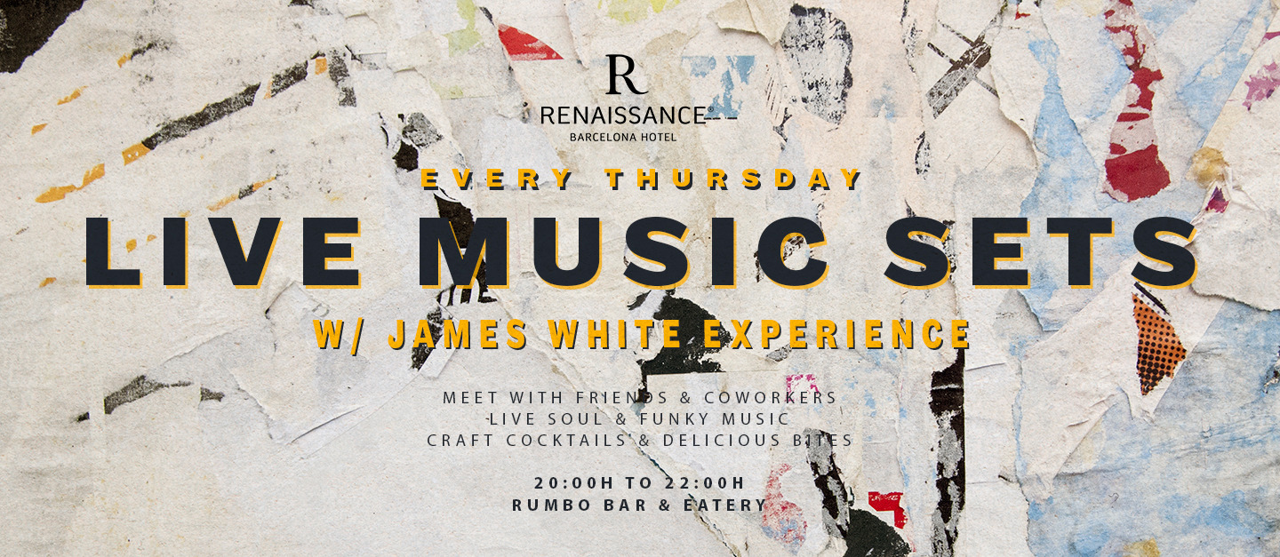 Live Music Sets - Club Renaissance Barcelona Hotel