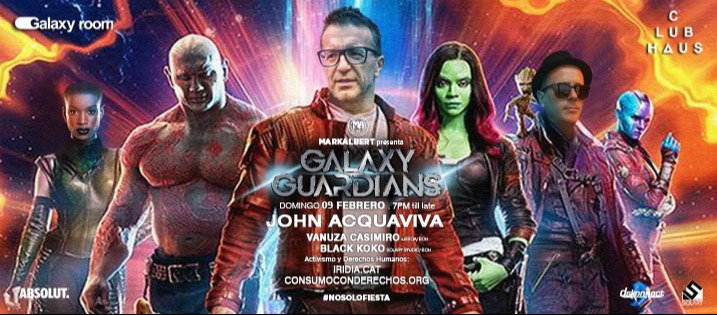 GALAXY GUARDIANS - Club Clubhaus