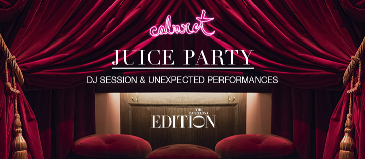 JUICE PARTY - Club The Barcelona EDITION