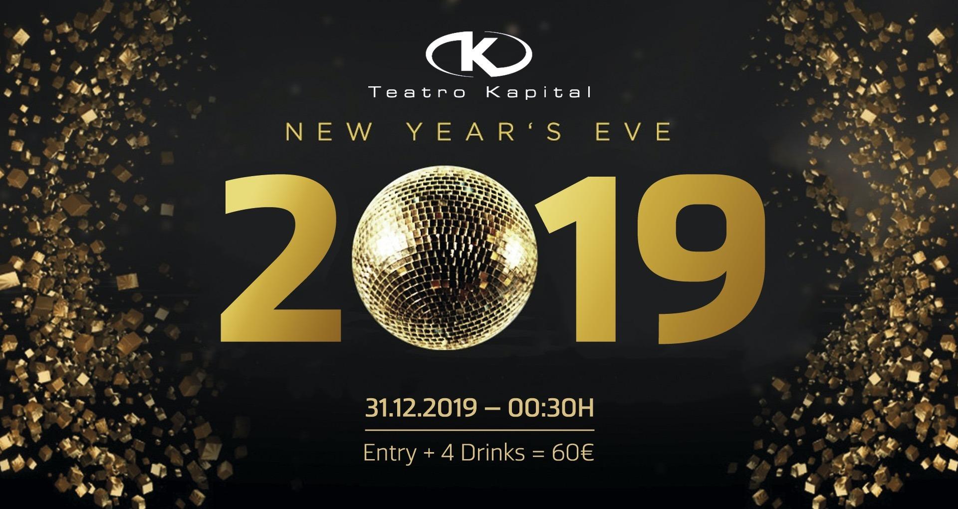 New Year's Eve at Teatro Kapital - Club Teatro Kapital