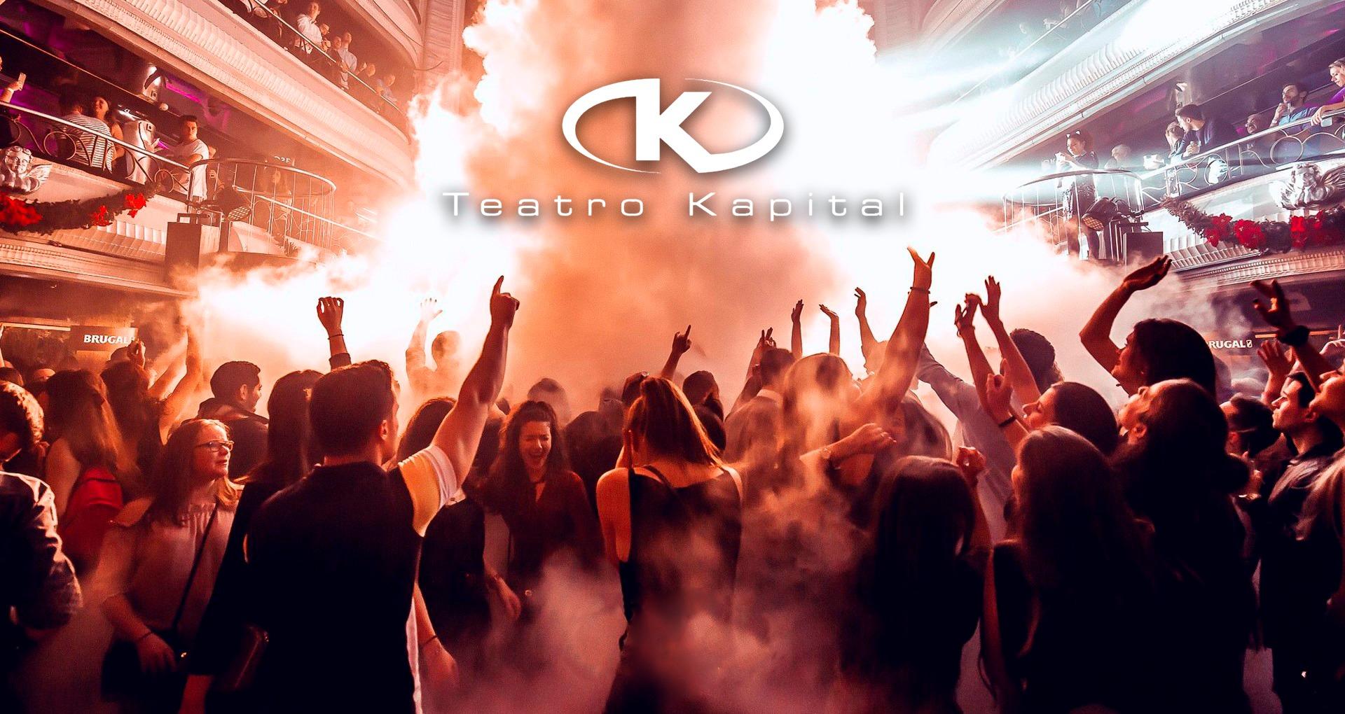 Kapital Viernes - Club Teatro Kapital