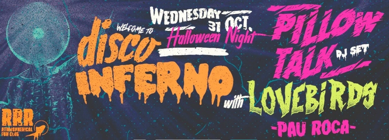 La Terrrazza Halloween Party Welcome To Disco Inferno