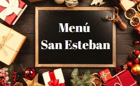 Menú San Esteban  - Restaurant Go Beach Club Barcelona Restaurant
