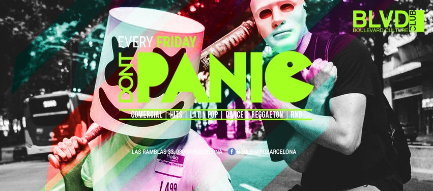 DONT PANIC - Club Boulevard