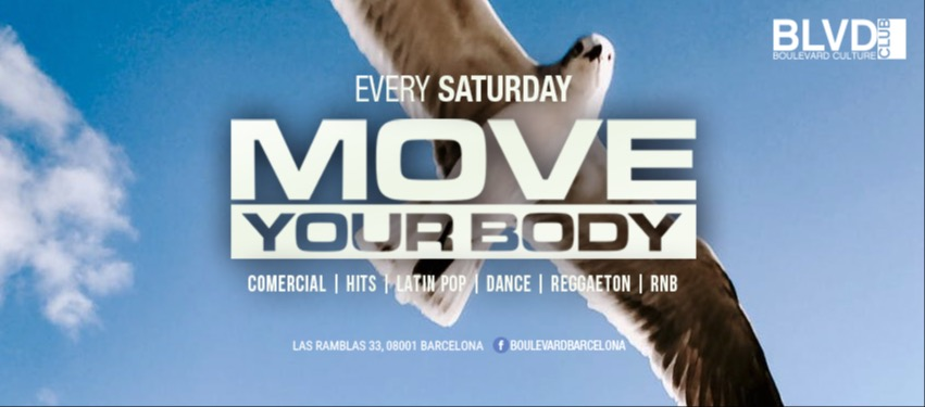 MOVE YOUR BODY - Club Boulevard