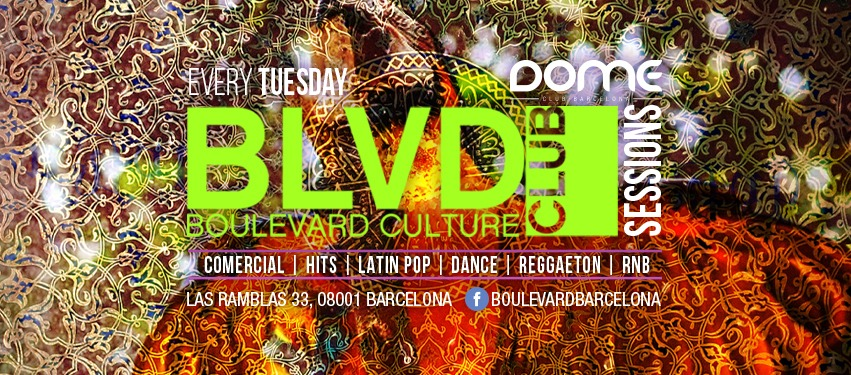 BOULEVARD SESSIONS - TUESDAY EDITION - Club Boulevard