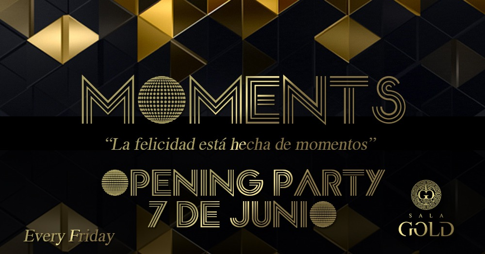 Moments - every friday - Club SALA GOLD