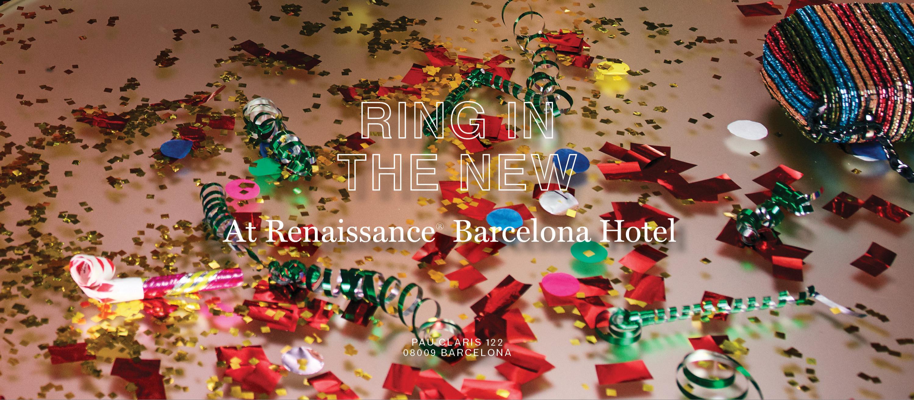 CELEBRE LO NUEVO  - Club Renaissance Barcelona Hotel