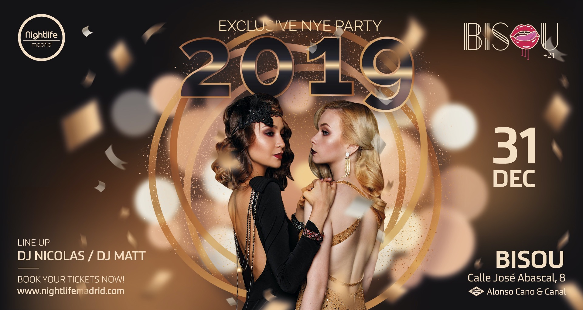 New Year's Eve at Bisou - Club Bisou