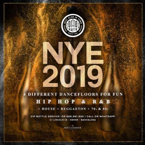 NEW YEAR'S EVE - Club Otto Zutz