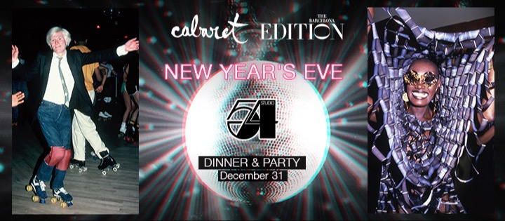 STUDIO 54 NEW YEAR'S EVE PARTY - Club The Barcelona EDITION
