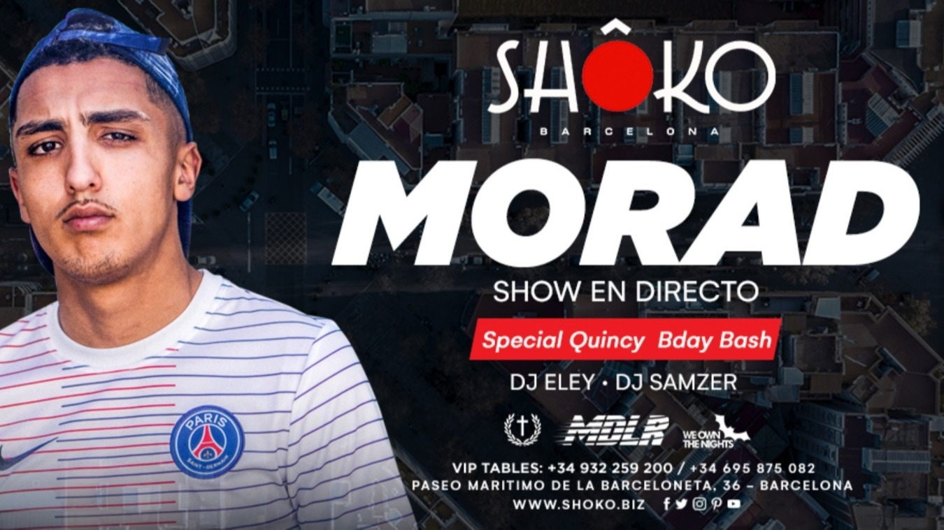 Pop That Party | MORAD - Club Shoko Barcelona