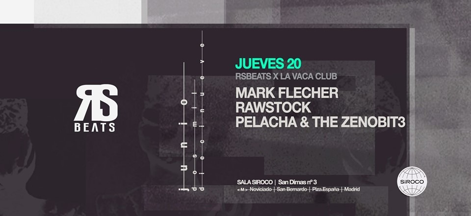 Redsonja Beats x La Vaca Club: Mark Flecher, Rawstock - Club Redsonja Beats