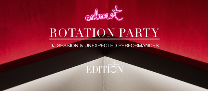 ROTATION PARTY - Club The Barcelona EDITION