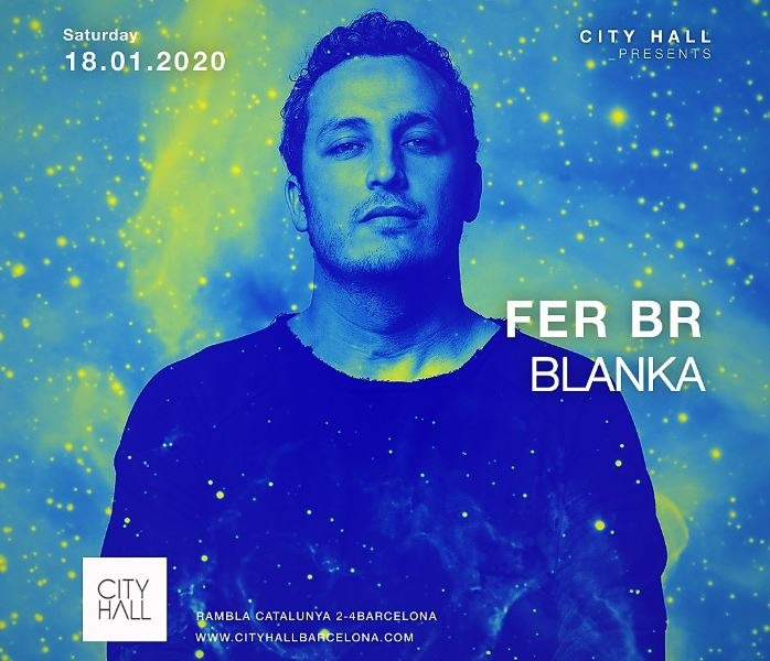 City Hall pres.  Fer BR - Blanka - Club Cityhall