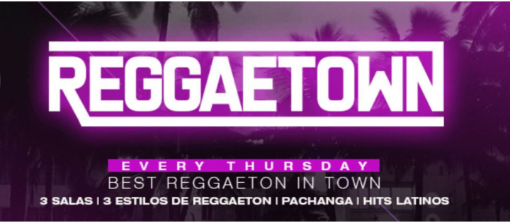 REGGAETOWN | Every Thursday - Virtual BARCELONING
