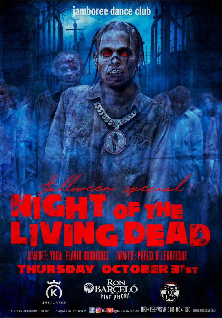 Halloween party - NIGHT OF THE LIVING DEAD - Club jamboree
