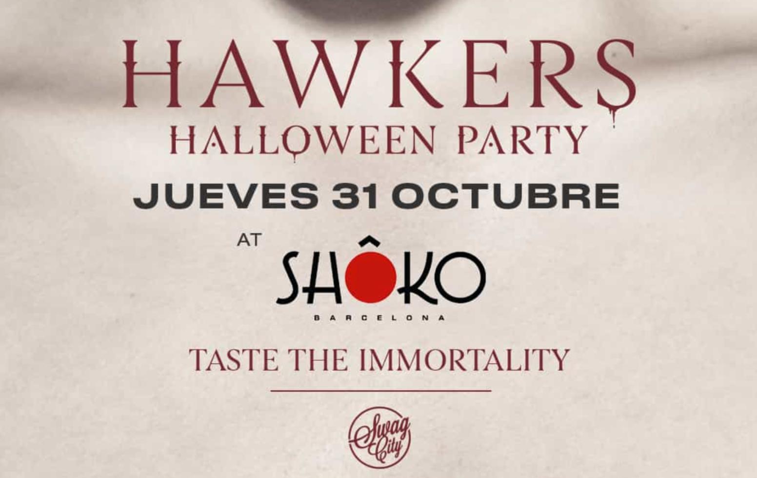 SWAG CITY - HALLOWEEN - Club Shoko Barcelona