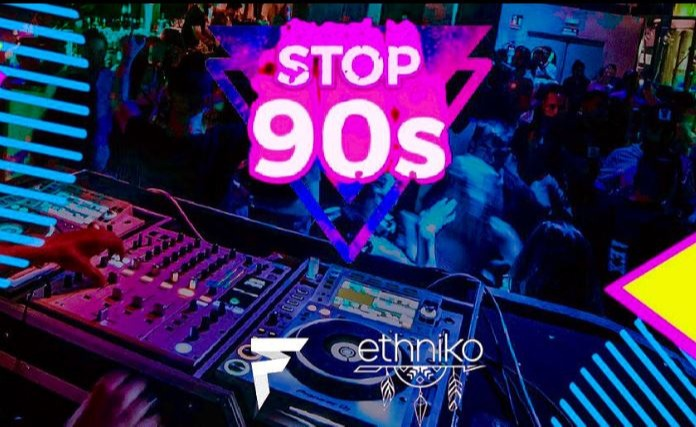STOP '90s Barcelona - Club Ethniko