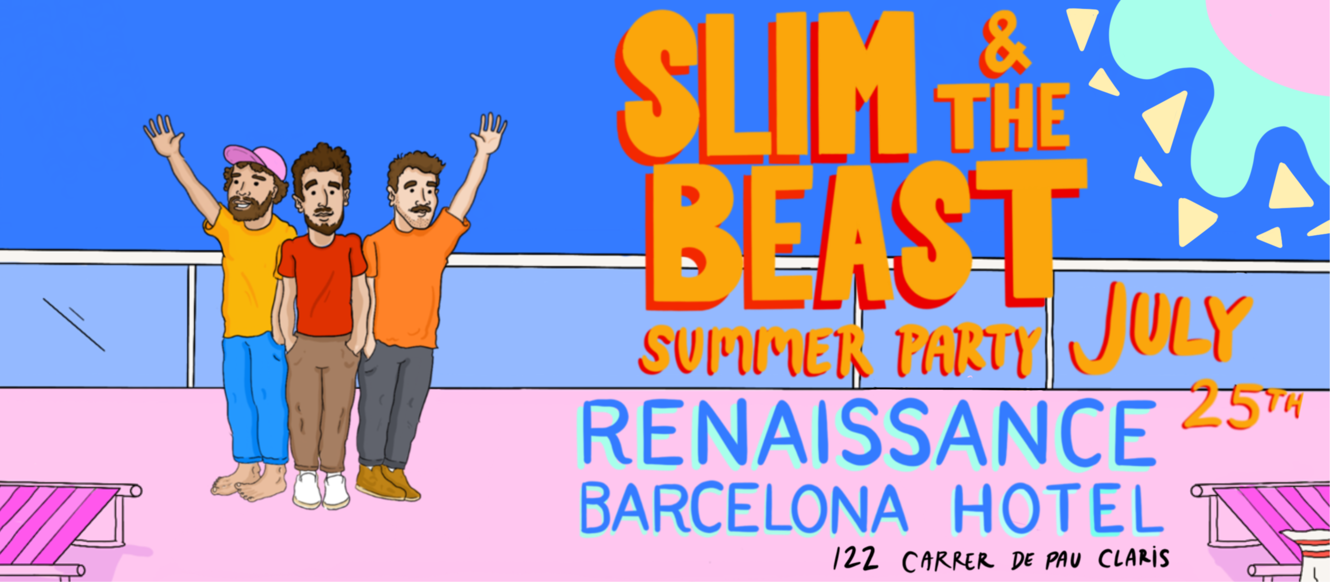 Summer Party w/Slim & The Beast - Club Goja Rooftop Experience