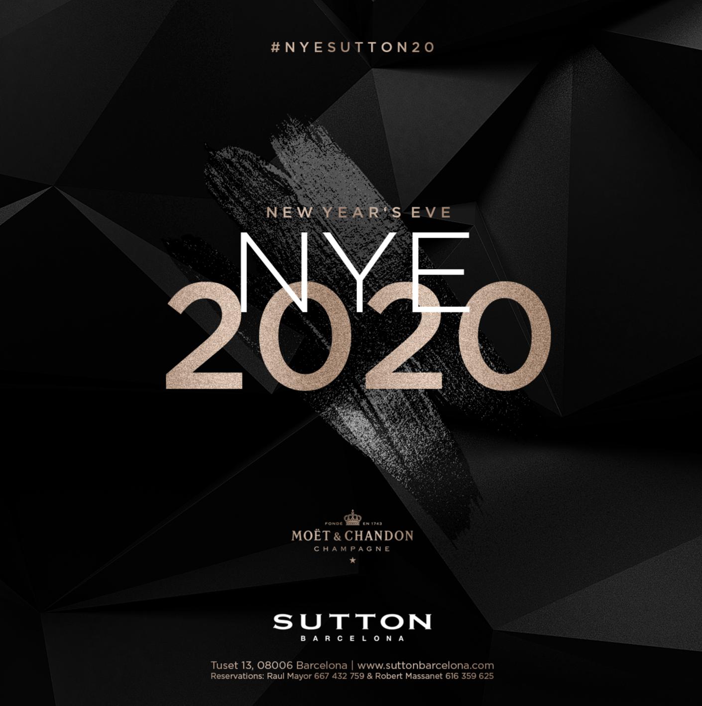 SUTTON NYE 2020 - Club Sutton The Club