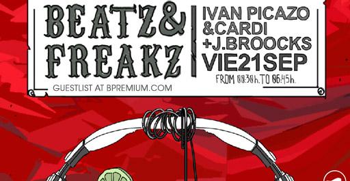 Beat Freaks Night At La Terrrazza In Barcelona