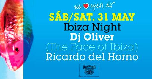 Ibiza Night At La Terrrazza In Barcelona