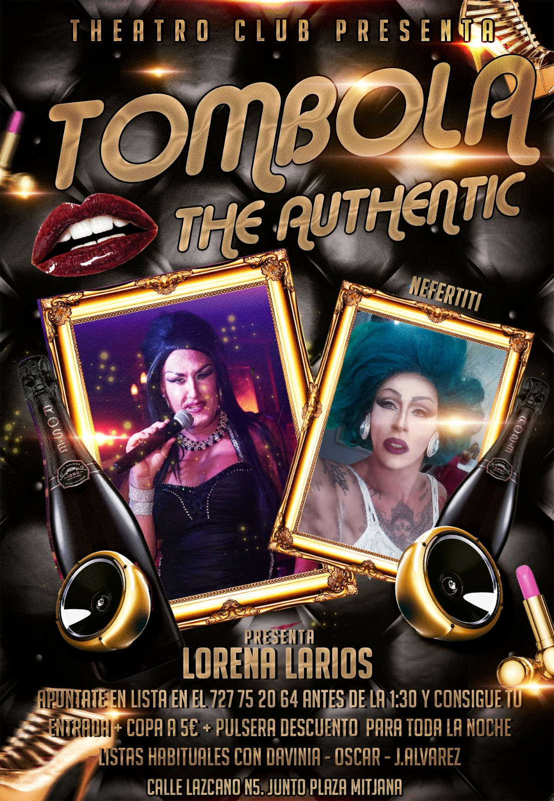 Tom Tom Tombola - Club Theatro Club