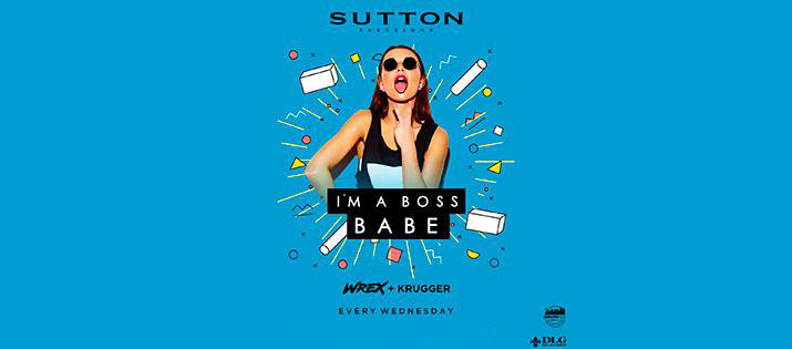 I'M A BOSS BABE- SUTTON BARCELONA SUTTON THE CLUB