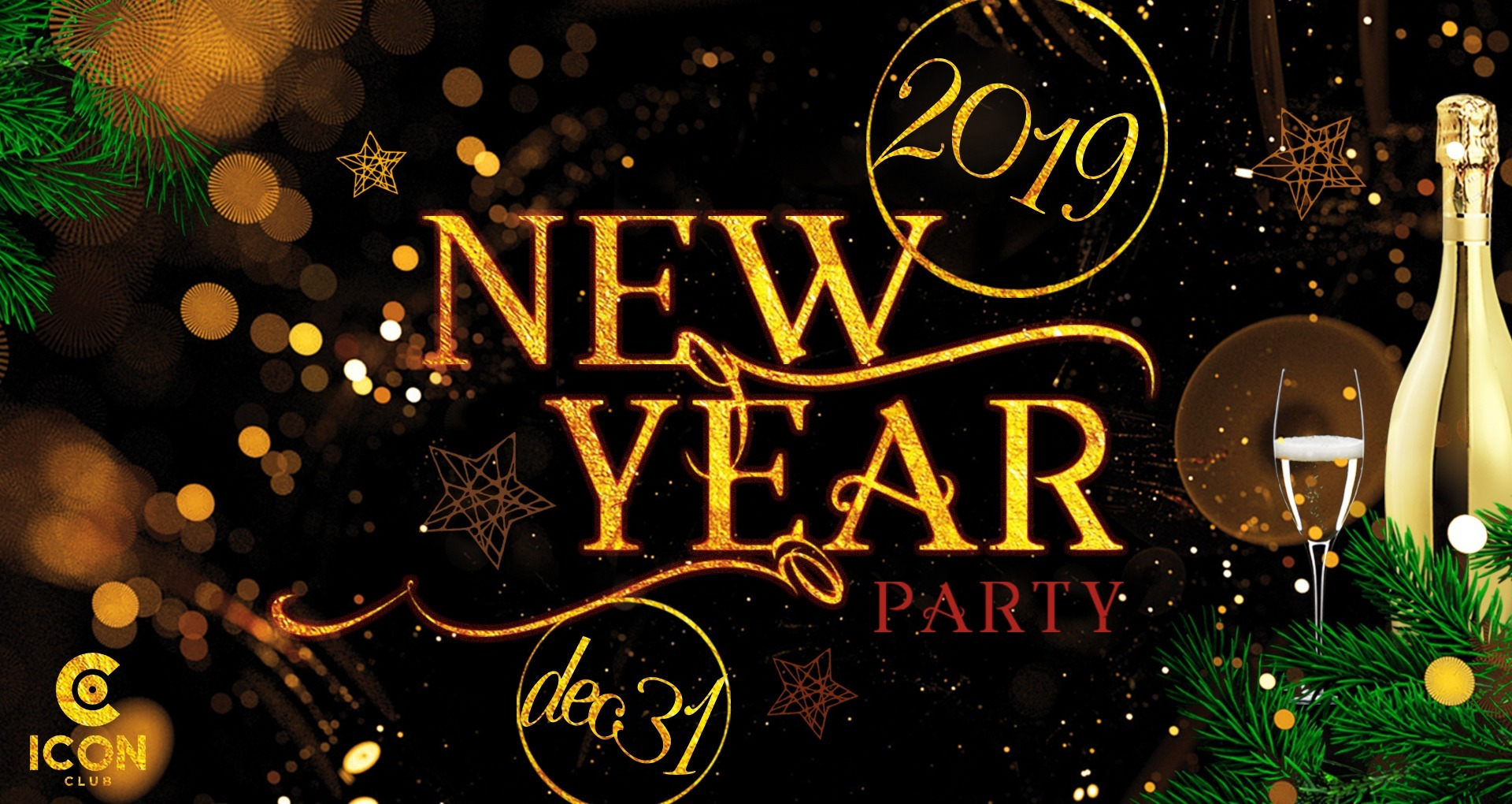 New Year's Eve at Icon - Club Icon