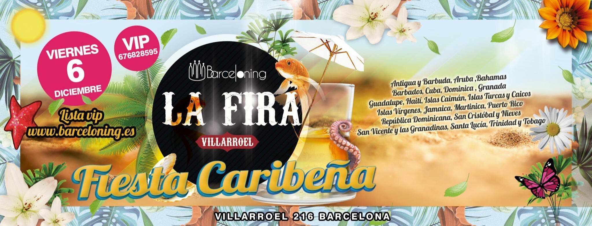 Caribbean Party - La Fira Villarroel - Club LA FIRA VILLARROEL