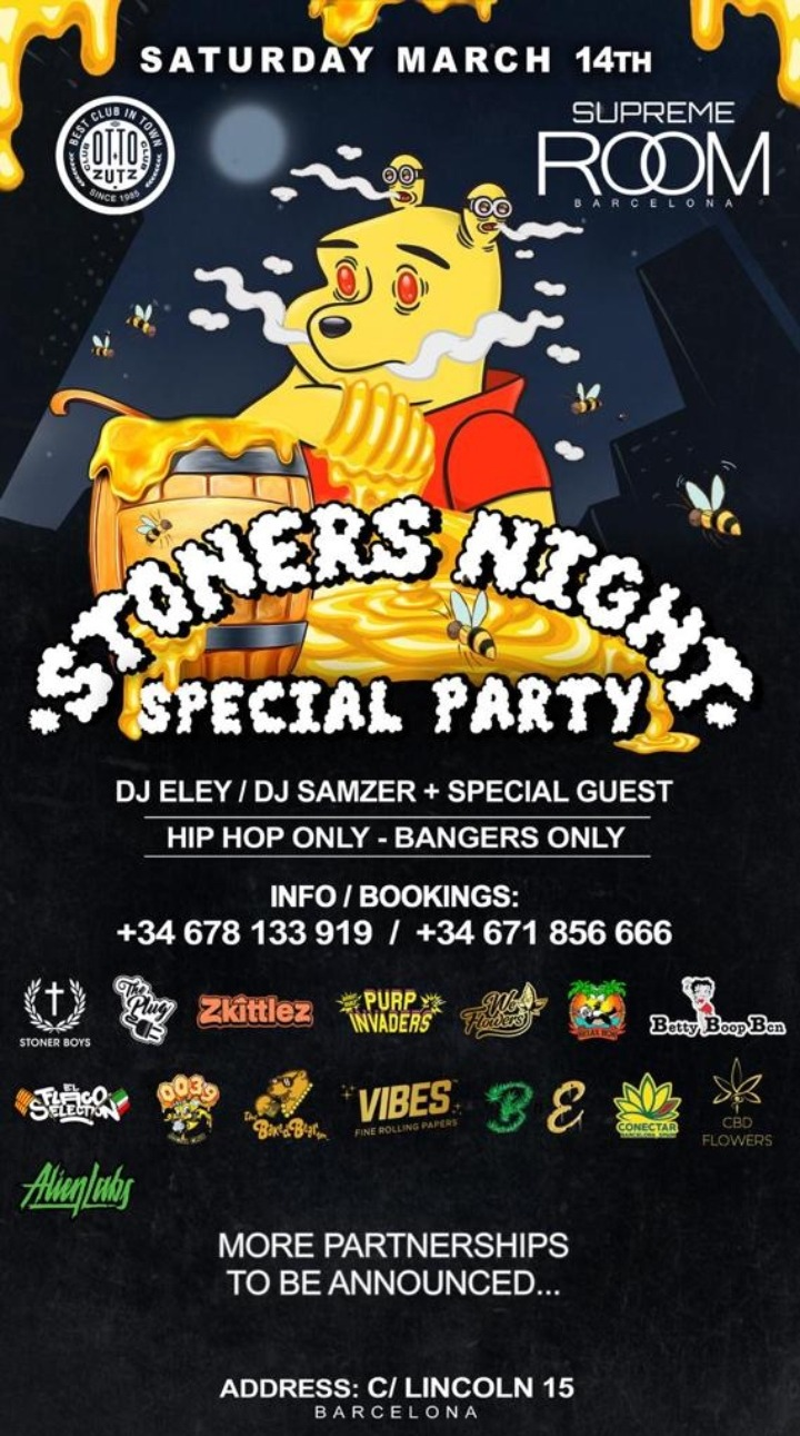 STONERS NIGHT SPECIAL PARTY - Club Otto Zutz