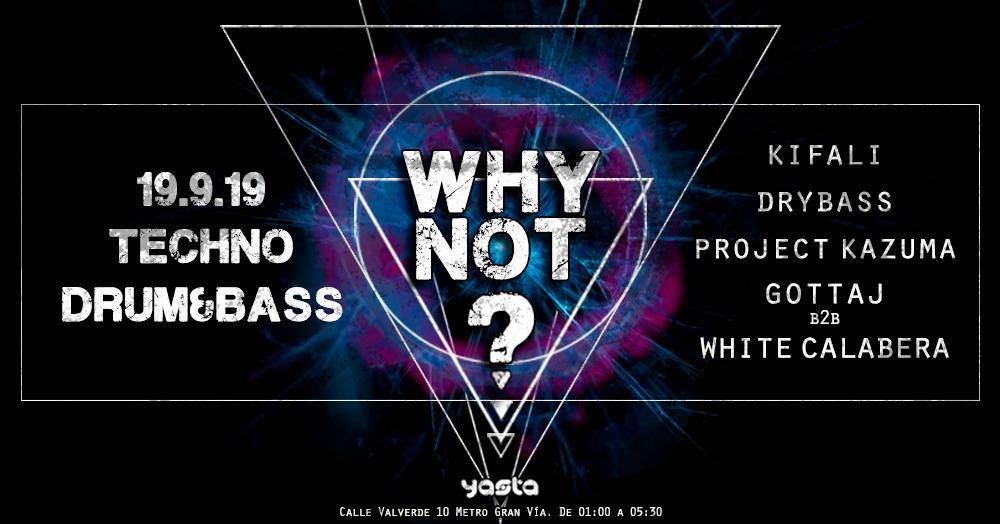 WHY NOT - Club Ya'sta Club