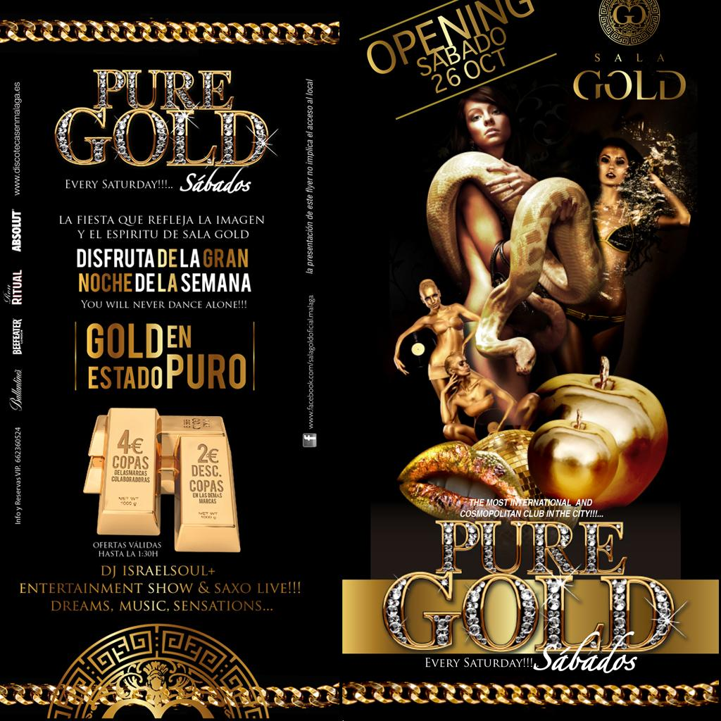 Pure Gold - every saturday - Club SALA GOLD