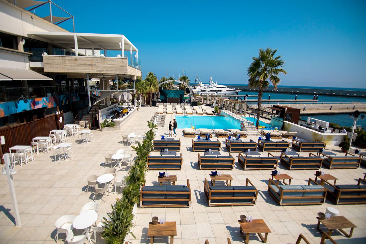 CANAPE @ GO BEACH CLUB GO BEACH CLUB BARCELONA POOL
