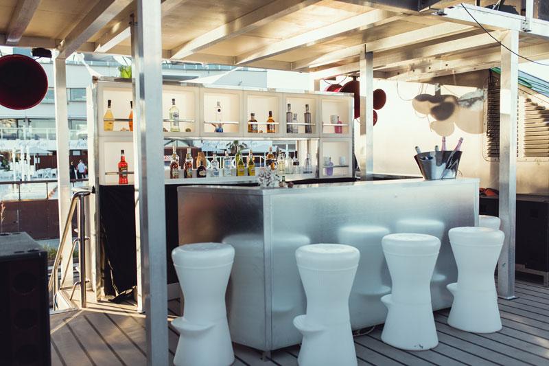 Cafe del mar boat Cafe del mar boat Antiguo Edificio de Capitanía, Carrer de la Pau, 12, 08930 Sant Adrià de Besòs, Barcelona, Spain