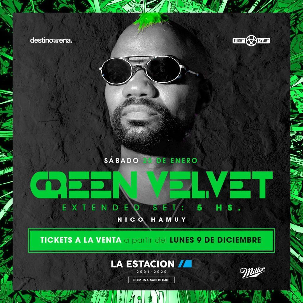 GREEN VELVET @ LA ESTACION LA ESTACION SUNSET