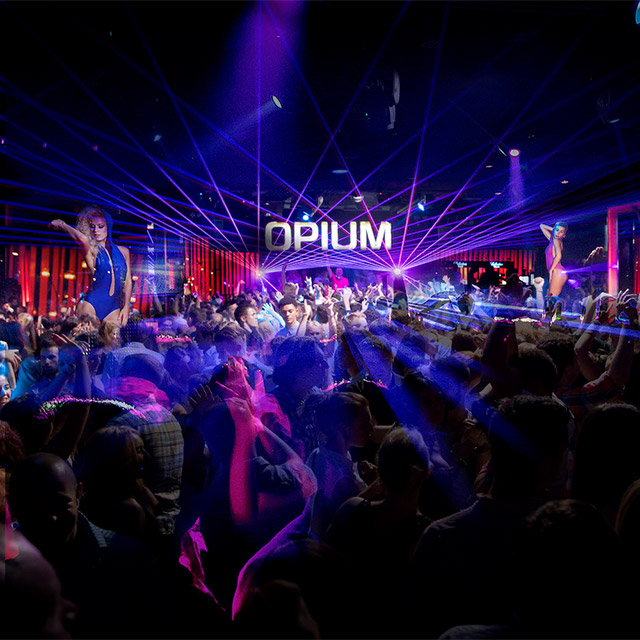 DESEO - LATIN NIGHTS OPIUM BARCELONA