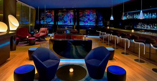 W Lounge W Lounge Plaça de la Rosa dels Vents, Barcelona, España
